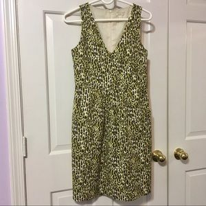J.Crew V-neck Sheath Dress